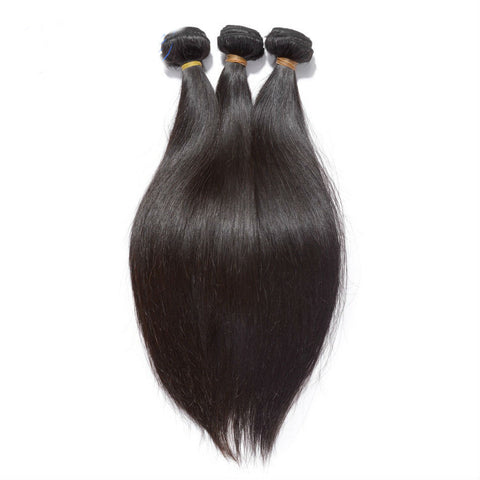 Straight Peruvian Virgin Hair - 3Pcs/Bundle