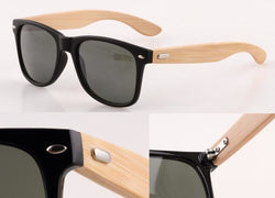 Stay Fresh With  Veithdia  Blend of Bamboo Sunglasses Authentic Design With Color
