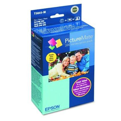 Epson Print Cartridge - Paper Kit - 1 X Color (cyan, Magenta, Yellow, Black) - 100 Pag