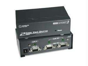 2-Port UXGA Splitter-Extender with Audio