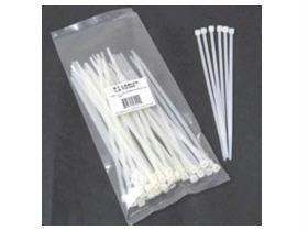 100pk 11.5in Cable Ties White