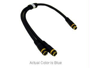 1ft Velocity S-Video Y-Cable