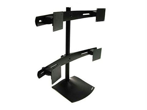 Ergotron Base, 28 Pole, Two (2) Paraview Bows, Four (4) Sliding Brackets