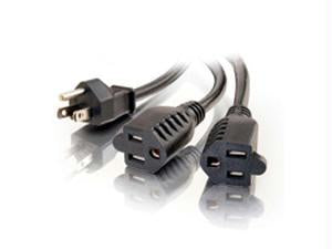 6ft 1-to-2 Power Cord Splitter