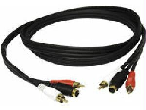 C2g 6ft Value Seriesandtrade; S-video + Rca Stereo Audio Cable