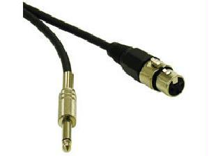 3FT PRO-AUDIO XLR FEMALE TO 1-4 MALE