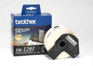 Brother International Corporat Labelmaker Die-cut Address Labels, 3-1-2 X 1-1-7, White Paper