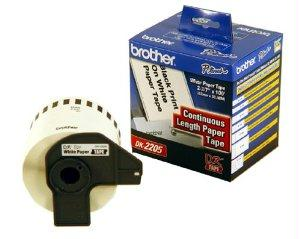 Brother International Corporat Directthermal Continuous Length Paper Tape 2.5 Inch (62mm)