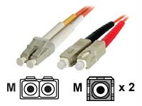 Startech 5m Multimode Fiber Patch Cable Lc-sc