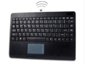 Adesso Wkb-4000ub - Keyboard; Touchpad - 87 - Touchpad - Wireless - Rf - Black