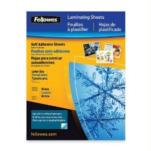 Fellowes, Inc. Laminating Sheets Self Adhesive 9x12 3mi