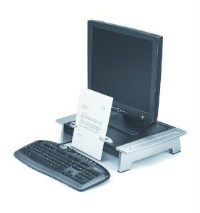 Fellowes, Inc. Adjustable Feet Optimize Monitor Height Position (total Height - 4in To 6 1-2in)