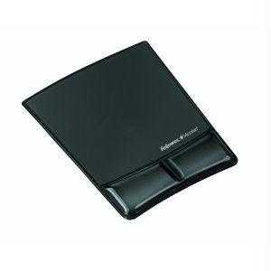 Fellowes, Inc. Mousepad-wrist Support W-microban - Blac