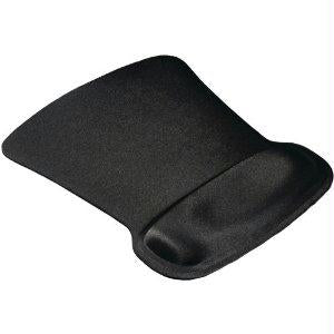 Allsop Ergoprene Gel Mousepad W-wrist Rest - Black