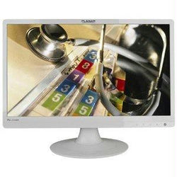 Planar Pll2210mw-wh, 22 Inch White Wide Led With Analog, Dvi-d, Speakers, Dc Power