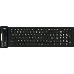 Adesso Slimtouch 222 Antimicrobial Waterproof Flex Keyboard (compact Size)