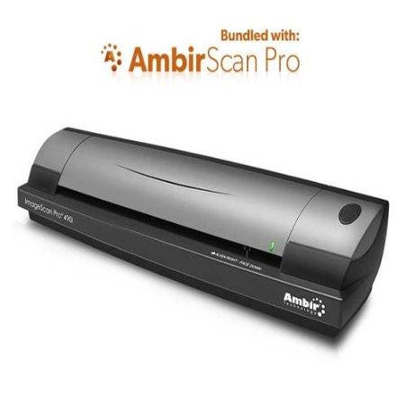 Ambir Technology, Inc. Imagescan Pro 490i Duplex Document & Id Scanner W-ambirscan 3.1 Pro Softwar