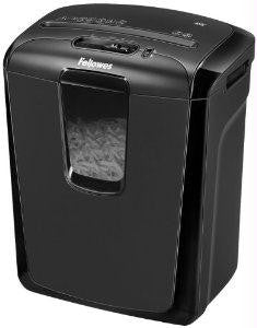 Fellowes, Inc. 49c Cross-cut Shredder  Reliable Deskside Shredder For Personal Use