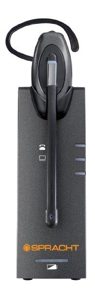 Spracht The Zum Eco-dect Pro Usb-dect 6.0 Headset + Base Has Up To 600 Feet Of Wireless