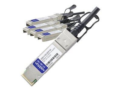 Add-on-computer Peripherals, L Addon Enterasys 10gb-4-c03-qsfp Compatible Taa Compliant 40gbase-cu