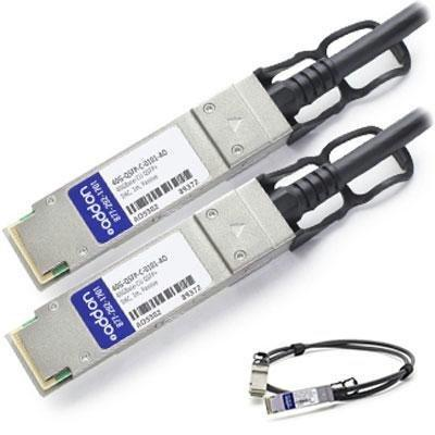 Add-on-computer Peripherals, L Addon Brocade 40g-qsfp-c-0101 Compatible Taa Compliant 40gbase-cu Q