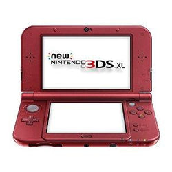 Nintendo Of America 3ds Xl System  New Red