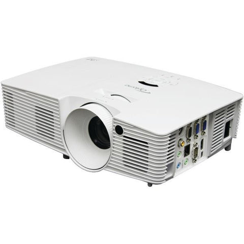 Optoma Technology Wxga (1200 X 800), 4500 Lumens, 20,000:1 Contrast, Up To 7000 Hour Lamp Life, Fu