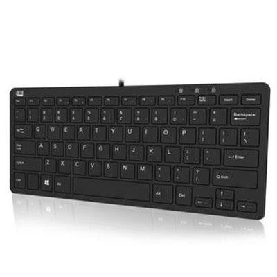 Adesso Adesso Slimtouch 510r - Mini Keyboard With Smart Card Reader And Usb Hubs