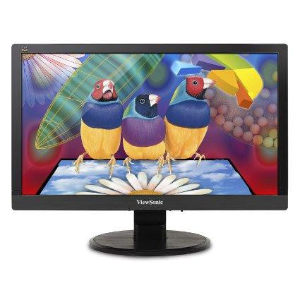 Viewsonic 20 (19.5vis) Widescreen Led, 1920x1080, 250 Nits, 3,000:1 Contrast Ratio, Vga In