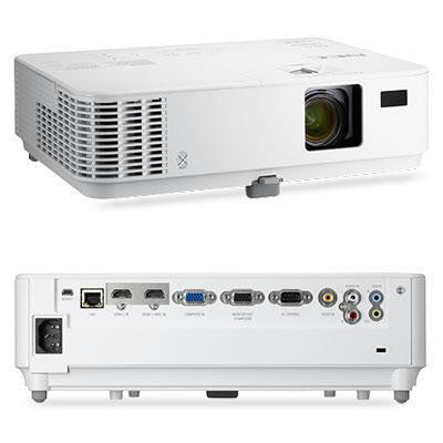 Nec Display Solutions Wxga, Dlp, 3300 Lumen, 10,000:1 Dynamic Contrast Projector W-8w Speaker, 3d
