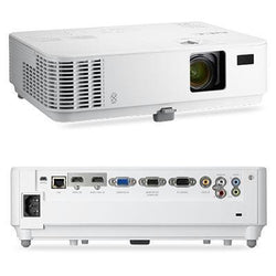 Nec Display Solutions Xga, Dlp, 3300 Lumen, 10,000:1 Dynamic Contrast Projector W-8w Speaker, 3d R