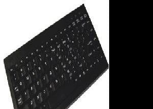 Adesso Ack-595 - Mini Keyboard With Embedded Numeric Keypad (ps-2, Black)