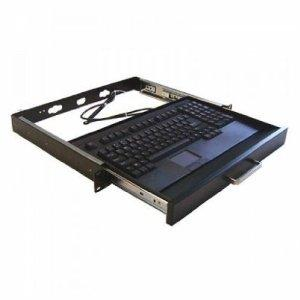 Adesso Rackmount Keyboard Drawer With Built-in Touchpad Keyboard Ack-730pb-mrp - Keyboa