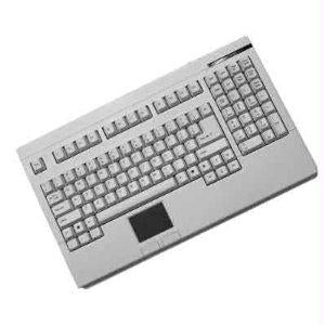 Adesso Ack-730uw - Keyboard - Touchpad - Cable - Usb - White