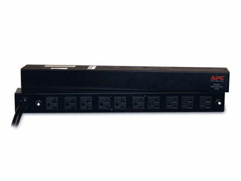 Apc By Schneider Electric Basic Rack 1u - Power Distribution Strip - Rack-mountable - Ac 100-120 V