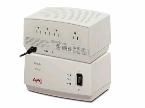 Apc By Schneider Electric 1200va - Automatic Voltage Regulator - External - Beige