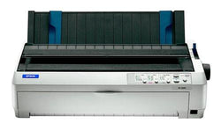 Epson Fx 2190 Printer - B-w - Dot-matrix - 16.54 In X 22 In, Fanfold (16 In) - 9 Pin -