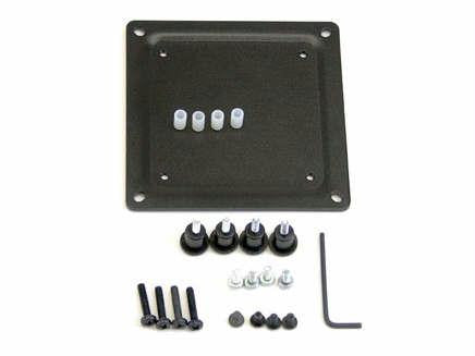 Ergotron Conversion Plate Kit - Metal - Black - 75mm To 100mm