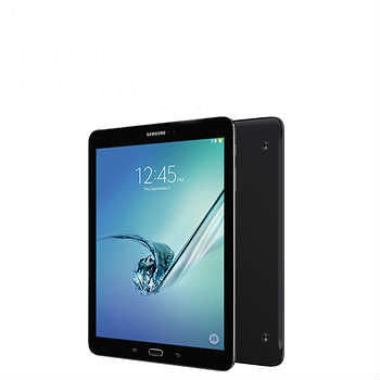Samsung Galaxy Tab S2 Wi-Fi Tablet, Octa Core, Android Marshmallow, Black w/ Book Cover