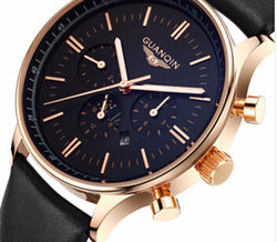 Brilliant Mens Luxury Wrist Watch. Rock It Like You Are On Top.