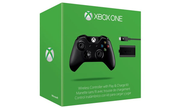 Microsoft Xbox One Wireless Controller and Play and Charge Kit