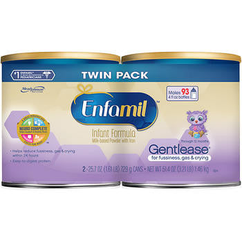 Enfamil Gentlease Infant Formula 2ct / 25.7oz