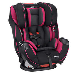 Evenflo Symphony Elite Car Seat - Raspberry Sorbet