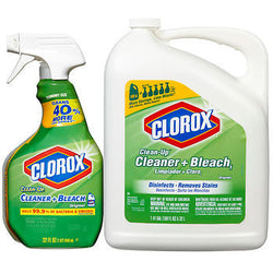 Clorox Clean-Up® Cleaner + Bleach 32oz with 180oz Refill Bottle
