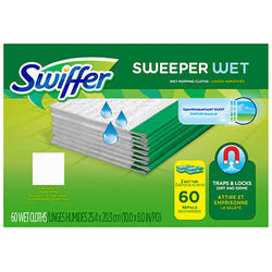 Swiffer Wet Refill Cloths 60 Count