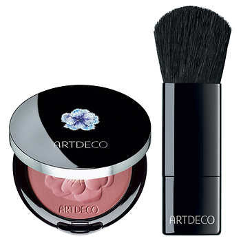 Limited Edition Crystal Garden Blush and Brush by ARTDECO