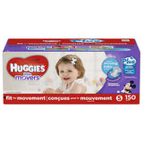 Huggies Little Movers Plus Diapers Size 5; 150ct