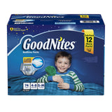 GoodNites for Boys Size S/M; 74ct
