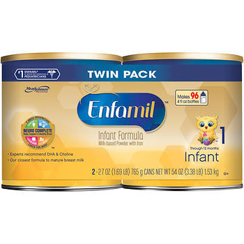 Enfamil Infant Formula 2ct / 27oz