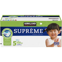 Kirkland Signature Supreme Diapers Size 5; 150ct